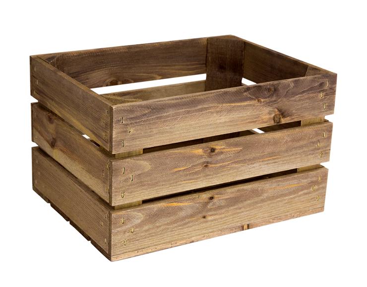 caja madera rustica