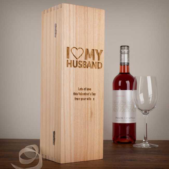 caja botellas vino