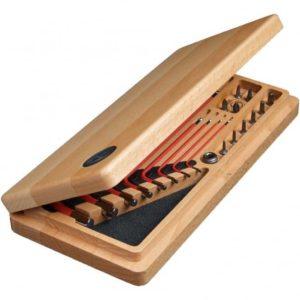 caja herramientas precision madera