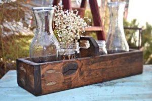 caja madera bandeja