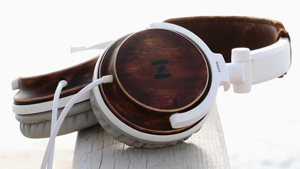 colores variados auriculares de madera precision en sonido claridad