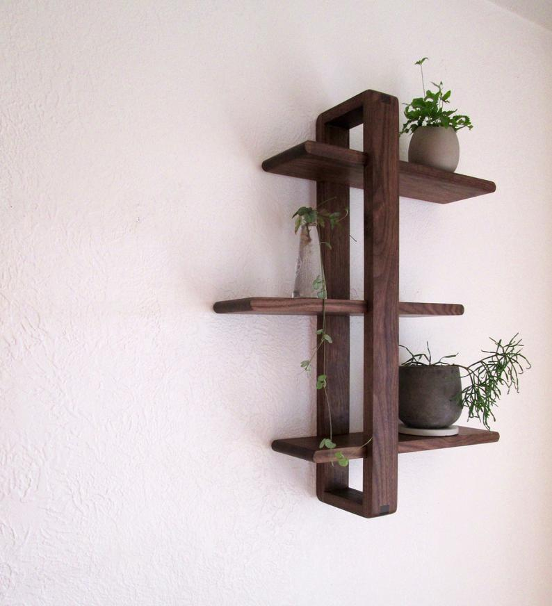 estructura de madera ensamblaje de pared en caoba cedro