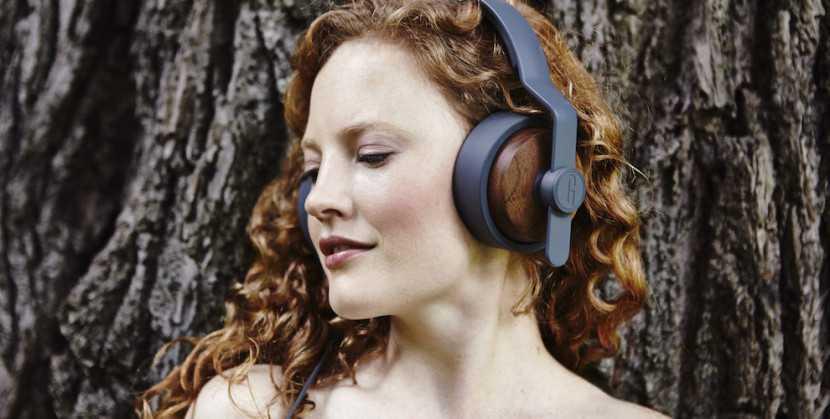 gran estilo auriculares madera y plastico combinados calidad de audio
