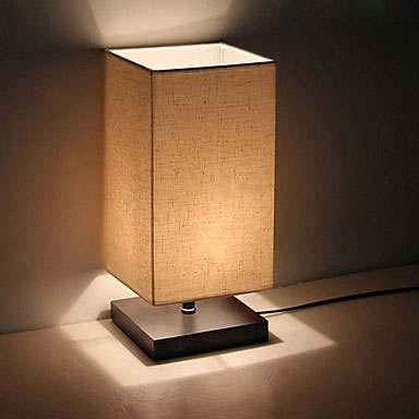 lampara cuadrada moderna minimalista escritorio