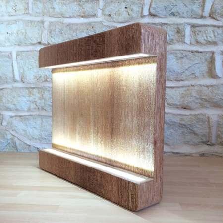 lampara de mesa cuadrada moderna