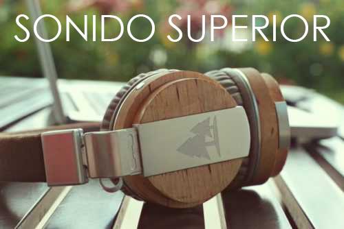 livianos ligeros precisos sonido nitido audifonos de madera sonido superior