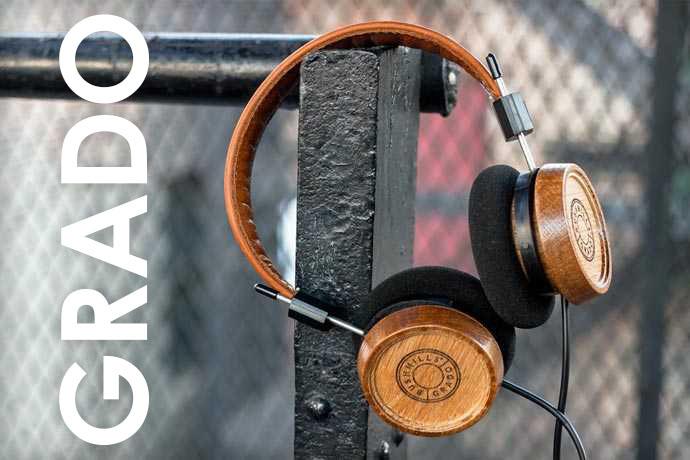 musica sonido estilo audifonos de madera