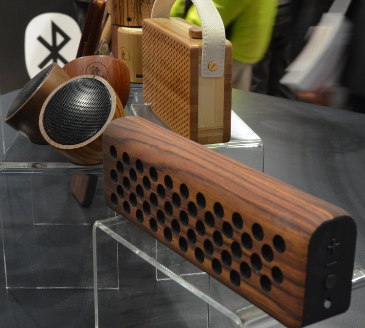 parlantes marley madera sonido alta definicion