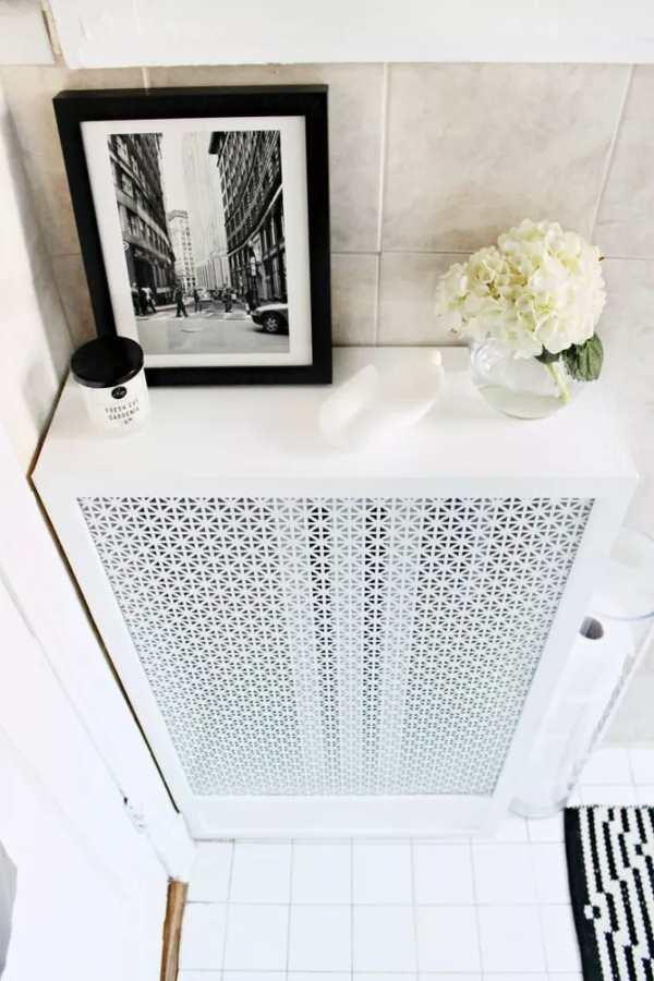 cubierta para calefactor radiador