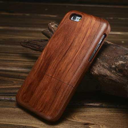 funda protectora para moviles material madera