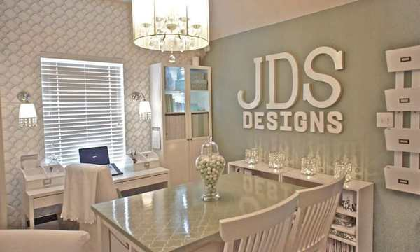 letras en la decoracion de oficina en casa