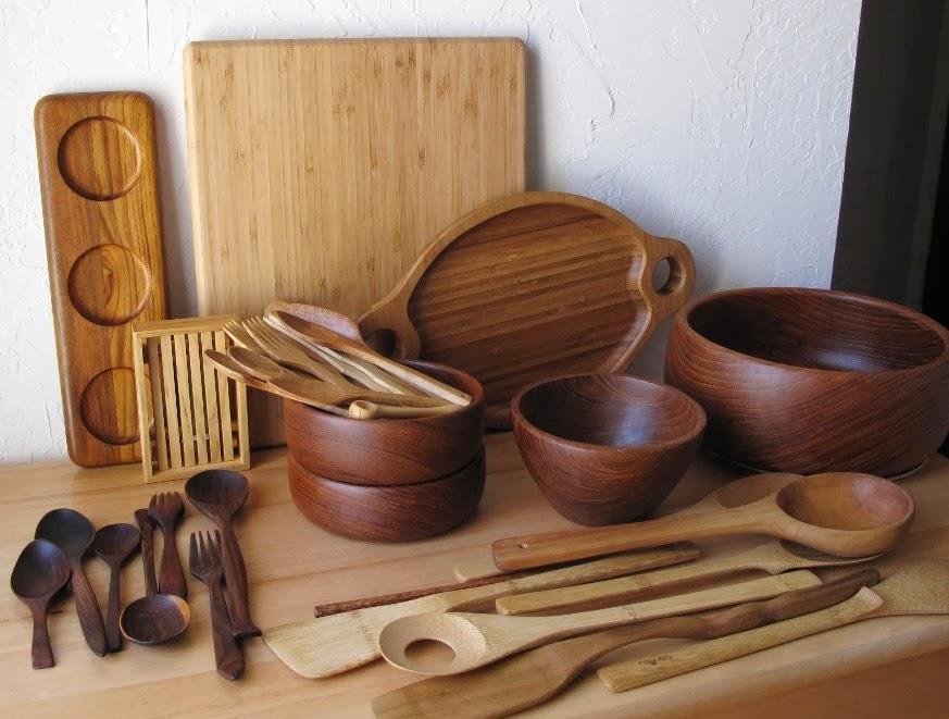 accesorios de cocina de madera