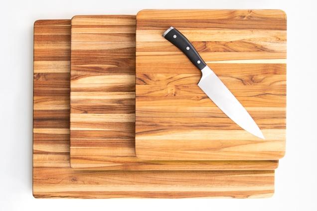 tablas de cortar de madera